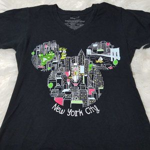 Disney Store Mickey Mouse New York City T-Shirt L